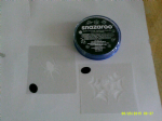 Spider face painting set including stencils and face paint Halloween Spider & Web
